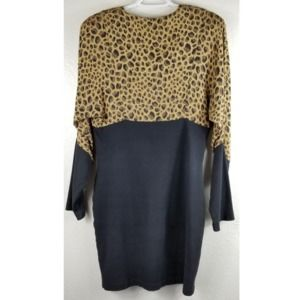 Biya by Johnny Was Rated R Leopard Print Dress